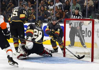 The Vegas Golden Knights lost their regular season opener Thursday night, just as the Pittsburgh Penguins did in 2015, the Boston Bruins did in 2010 and the Chicago Blackhawks did in 2009 ...