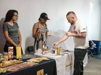 It's a Sunday afternoon in Las Vegas, and while many in the Valley are watching the second week of the NFL season or spending time with their families, dozens of locals are tucked away in a warehouse learning how to sell legal marijuana.