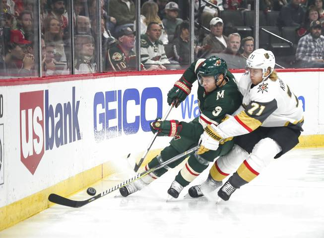 Golden Knights top Wild
