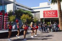 "More alumni donors would help improve UNLV's rankings in U.S. News & World Report's list of best universities, an Alumni Association executive said today. Standing among about 100 people gathered for a rally launching UNLV's inaugural #RebelsGive fundraiser, UNLV Alumni Association Senior Vice President Chad Warren said the percentage of alumni who donate is indicated as ""alumni satisfaction"" in the ..."