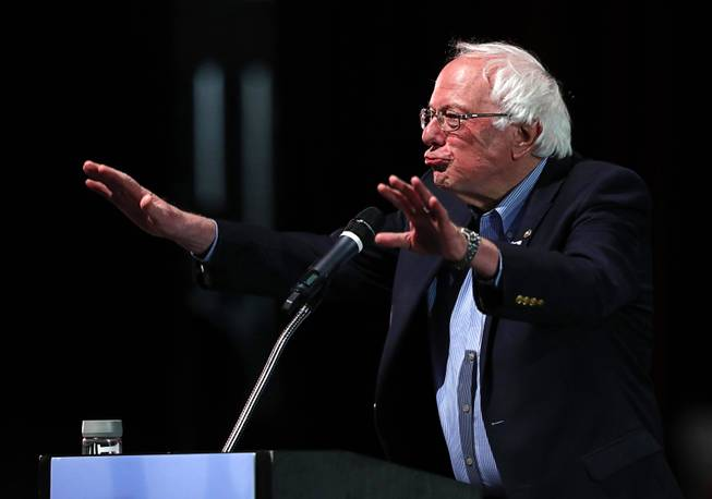 Bernie Sanders Stumps For Nevada Democrats