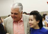 Nevada Governor-elect Steve Sisolak is now engaged to be married. The Democrat's campaign on Monday announced the engagement to his girlfriend of more than five years, Kathy Ong. Ong is a financial consultant in Las Vegas ...