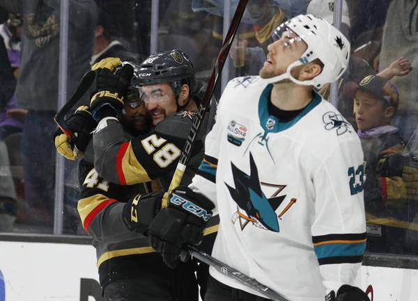 Golden Knights' William Carrier had a better season than you remember