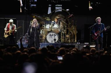 "After Fleetwood Mac opened its T-Mobile Arena concert on Friday with the reliable, rollicking ""The Chain"" — a 1977 track from best-selling album ""Rumours"" that was used in the soundtrack for last year's superhero epic ""Guardians of the Galaxy Vol. 2"" — singer Stevie Nicks reminded an already ..."