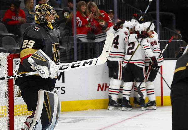 Vegas Play of the Day: Chicago Blackhawks at Arizona Coyotes