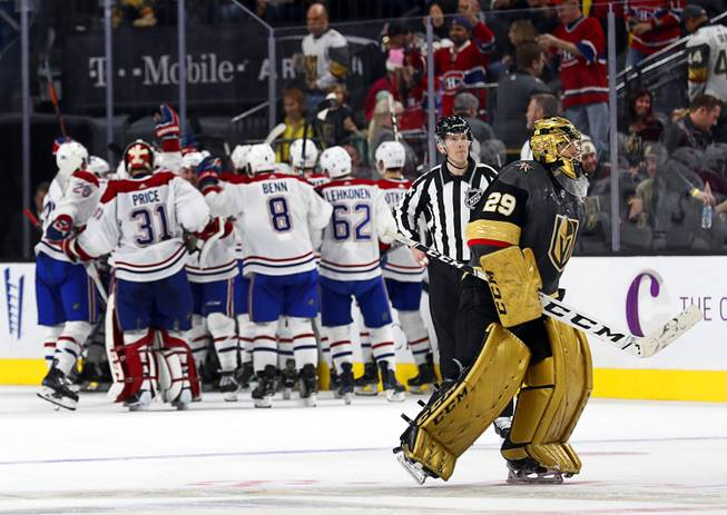 Golden Knights Lose in OT