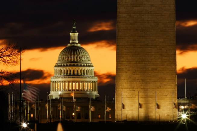 What happens in a partial government shutdown