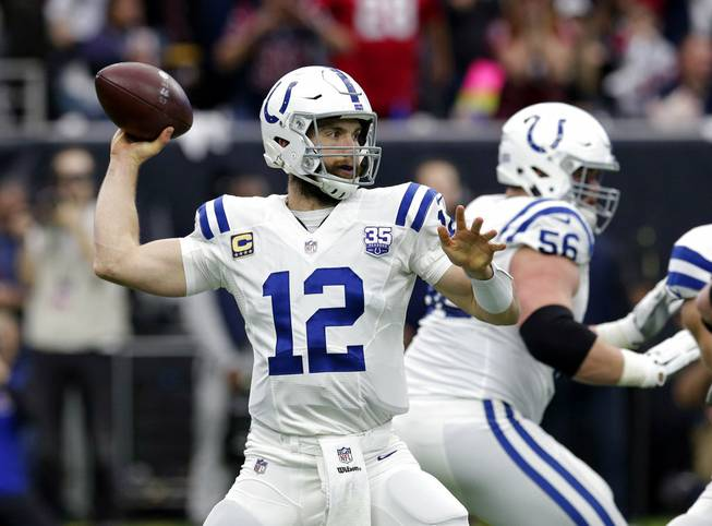 Colts win wildcard