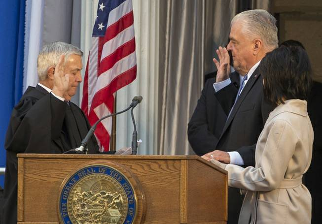 Sisolak Governor Oath of Office