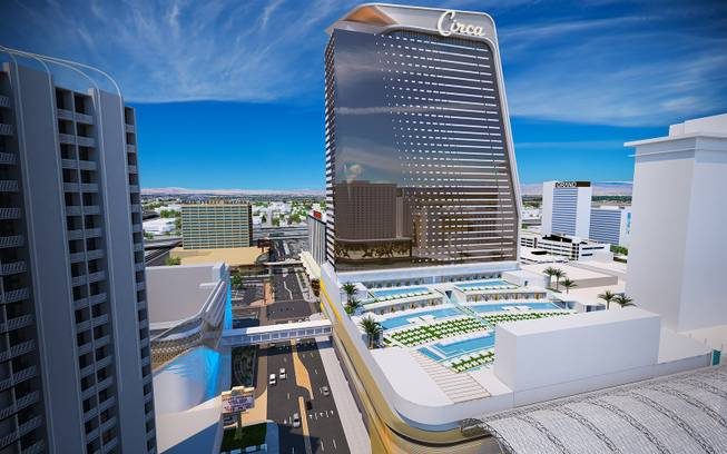 Best Pools In Vegas 2020 Derek Stevens unveils Circa Resort & Casino for downtown Las Vegas