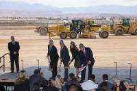 They'll be known as the Las Vegas Raiders on the field but based on the incoming NFL team's latest local event, the Henderson Raiders in spirit. The Raiders officially planted roots Monday afternoon in a ceremonial groundbreaking of their new headquarters ...