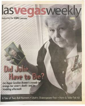 21 Las Vegas Weekly Covers