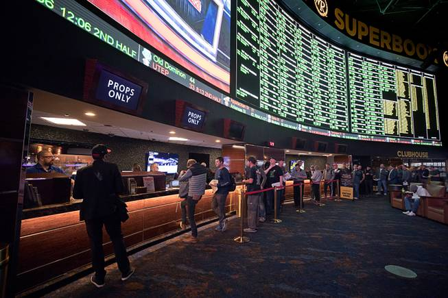 Super Bowl Proposition Bets at the Super Book