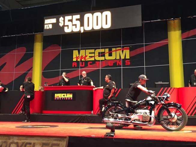 Mecum Motorcycle Auction