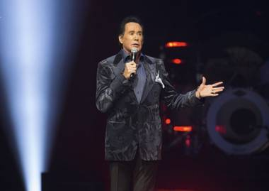 "Wayne Newton's ""Up Close & Personal"" show opens in its new home, the classic Cleopatra's Barge at Caesars Palace, and the legendary Las Vegas entertainer is ready to ""Danke Schoen"" all ..."