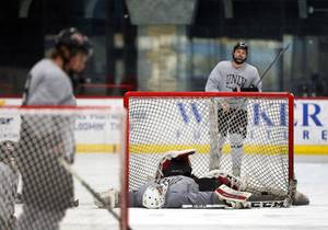 UNLV Rebel Hockey Practice
