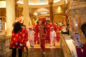 Chinese New Year at Forum Shops Caesars Palace -