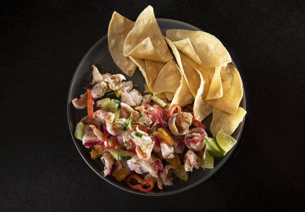 Recipe: Shrimp Aguachile Ceviche from Diablo's Cantina