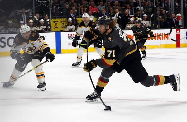 Live Blog: Golden Knights welcome Boston for early-season test