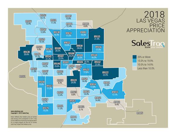 How much did the home prices in your ZIP code rise last year