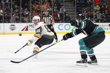 Golden Knights coach Gerard Gallant made a minor announcement Monday, one that won't perk too many ears but will get hardcore fans rethinking what the Vegas blue line will look like this season. By saying that Nate Schmidt is going to play on the right side ...
