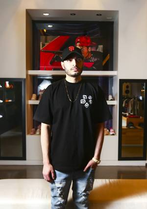 Jordan Hattar of CRSVR Clothing Store