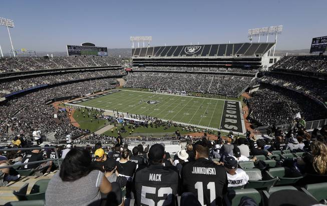 Raiders Stadium Oakland
