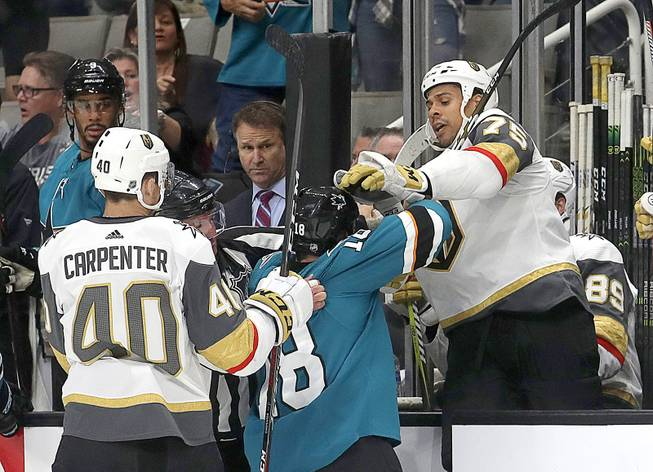 VGK vs Sharks At San Jose