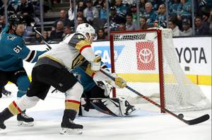Golden Knights Down Sharks, 7-3