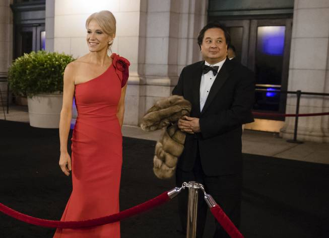 George and Kellyanne Conway