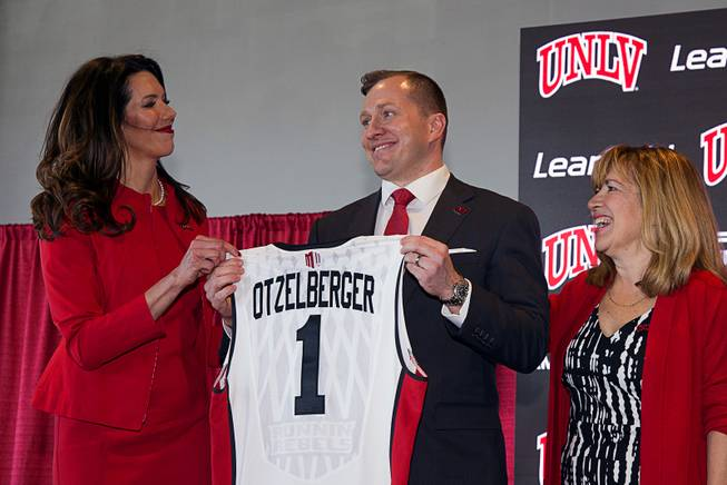 T.J. Otzelberger introduced at UNLV