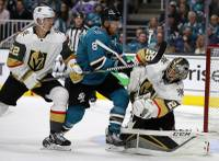 No team in the NHL received better production from its blue line than the San Jose Sharks, so it's not a major surprise that the Golden Knights yielded two goals and four assists to Sharks defensemen in Game 1 of the Western Conference quarterfinals. Slowing down the San Jose defensemen will be the key to ...