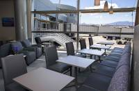 McCarran International Airport has a new hangout for travelers. Built and run by a Texas-based Airport Lounge Development, the 7,000-square-foot Club LAS lounge opened this morning inside the airport's D concourse. The lounge features complimentary food and ...