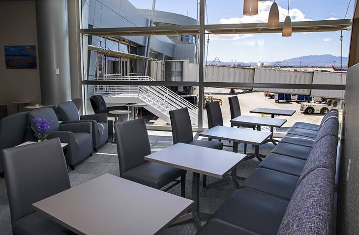 Photos: A look inside the new Club LAS at the Las Vegas airport