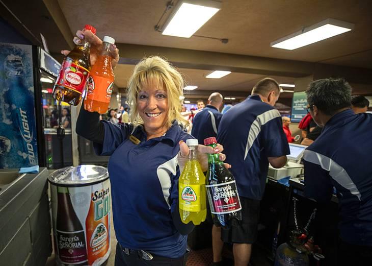 Drink it in: Las Vegas Lights games offer international