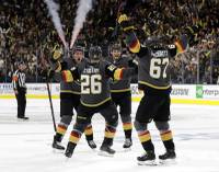 In the Golden Knights' initial four games with the San Jose Sharks in the Western Conference quarterfinal, the line of ...
