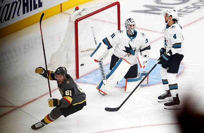 Blog: Mark Stone's hat trick powers Golden Knights to Game 3 win
