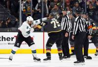 Ryan Reaves has never been shy to share his opinions, and he proved Monday that future Hall of Famers aren't off limits. Reaves took aim at the San Jose Sharks at practice, firing pointed barbs at team legend Joe Thornton. Reaves was asked about Thornton's hit to Vegas forward Tomas Nosek's head in Game 3, a hit ...