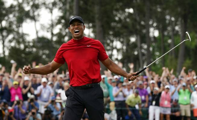 Tiger wins The Masters