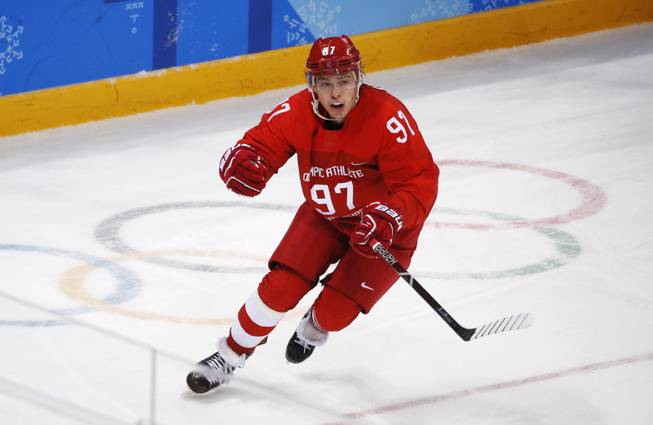 Golden Knights Agree To Terms With Nikita Gusev