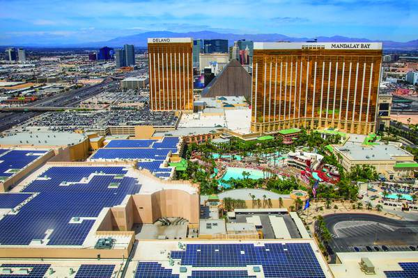 Sustainability on the Strip: Behind the glitz and glamorous excess, properties are serious about being green