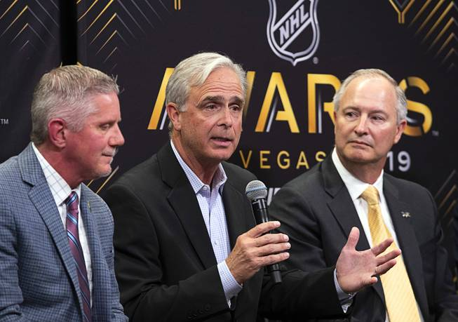 2019 NHL Awards News Conference