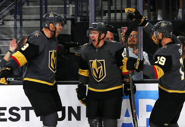 Golden Knights End Pre-Season With 5-1 Win Over Sharks