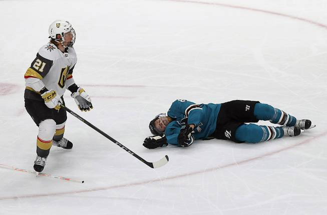 Referees From Knights-Sharks Game 7 Are Not Moving On In Playoffs