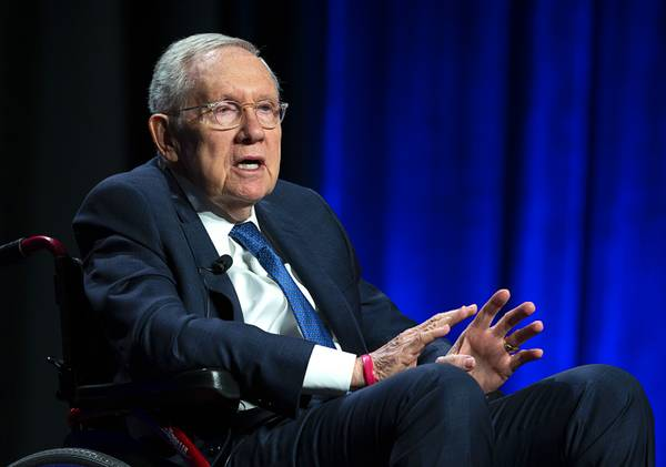 Harry Reid Happy To Talk About UFOs and Science