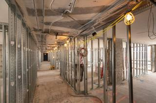 A view of the hotel room renovation project inside the Plaza, downtown, Friday, May 3, 2019.