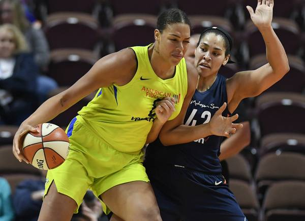 Is Las Vegas ready for larger-than-life Liz Cambage?