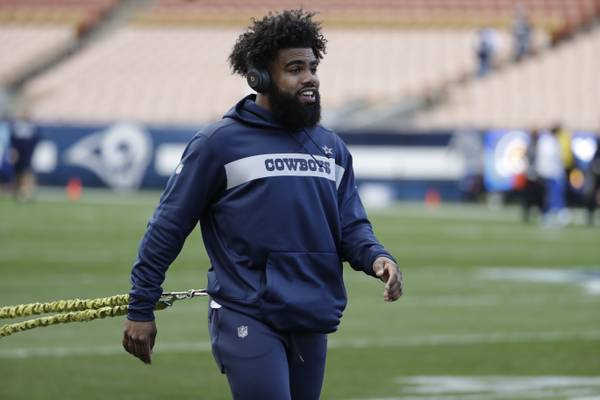 Cowboys' Ezekiel Elliott Detained By Police At EDC