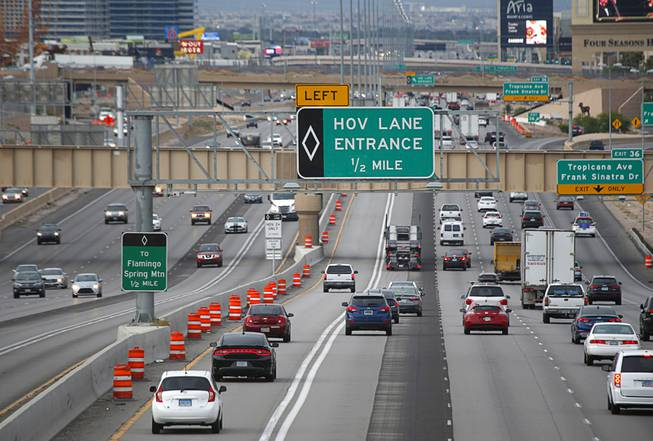 What Is Hov Lane >> What You Need To Know To Drive In The New Hov Lanes In Las