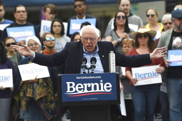 In Nevada, Bernie Sanders Says His Views Not So Radical